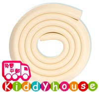 嬰兒家居用品~優質加厚防撞膠條-象牙白(加厚版) OT013-4 現貨