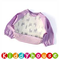嬰兒bb用品~新款可愛EVA防水幼童口水肩 小圍裙飯衣(L碼) BB1499 現貨