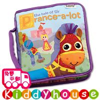 【限時特價】bb嬰兒玩具~立體早教英文布書(躍騰的小馬) T409 現貨