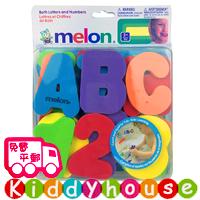 Melon泡沫EVA英文字母+數字戲水貼/認知玩具 T242 現貨