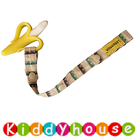 bb嬰兒用品~ Lemommon玩具/奶嘴防掉帶(卡其藍間) OT085 現貨