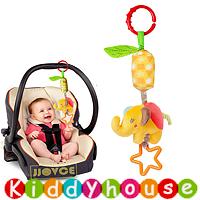 bb嬰兒玩具~JJovce 可愛動物車床掛風鈴 T459 現貨