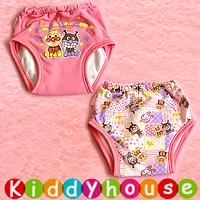 bb嬰兒用品~原單嬰幼兒三層棉質防水學習/戒片/隔尿褲(2條裝) BB1244 現貨