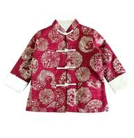 秋冬季中童兒童男童長袖唐裝中國服民族傳統服賀年服新年服 #PO8285