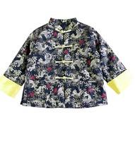 秋冬季中童兒童男童長袖唐裝中國服民族傳統服賀年服新年服 #PO8286