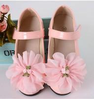 韓國款幼童女童鞋公主皮鞋花童禮服鞋 粉色 (26-37碼)  #7476