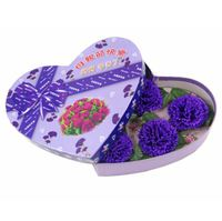 2014母親節特別版康乃馨香皂花禮盒 (粉紫紅藍4色選)
