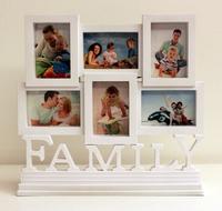 ❤  結婚/新居入伙/BB出世/生日禮物精選 ❤ 創意FAMILY全家幅座檯相框相架 [家居用品]