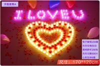 【情人節求婚推介】浪漫電子蠟燭套餐- 求婚套餐A