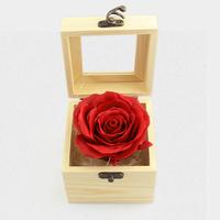 【2018情人節禮物推介】單朵香皂玫瑰花木盒子