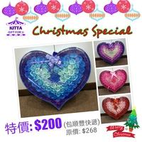 【聖誕禮物預訂優惠 (至12月11日)】漸變色香皂玫瑰花大禮盒(配有玫瑰LED閃燈)