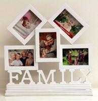 ❤ 老婆老公媽咪爸爸實用生日禮物推介 ❤ 創意FAMILY全家幅座檯相框相架