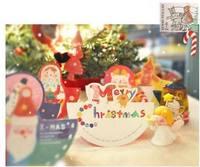 新款韓國MERRY CHRISTMAS 立體聖誕卡/聖誕佈置 (10張) - 聖誕樹款