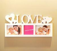 ❤ 結婚/男朋友/女朋友實用生日情人節禮物推介 ❤ LOVE歐式PVC創意掛牆相框相架