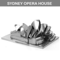 [DIY小禮物推介] DIY 立體金屬砌圖模型 - 世界建築SYDNEY OPERA悉尼歌劇院3D模型