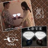 聖誕節必備求婚道具  I LOVE U 超大鑽石求婚戒指燈 (求婚 結婚 影婚紗相 用品 示愛 新居入伙 禮物)