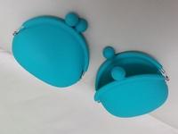 Q版彩色矽膠鎖匙包/散銀包