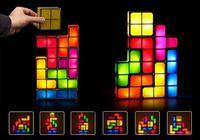 2016香港潮流精品/實用聖誕節禮物- 俄羅斯方塊LED夜燈