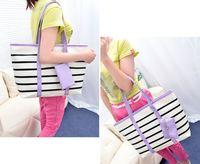 BAG1070 韓版潮流橫氣紋子母單肩大包/手袋