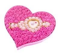 ❤ 女朋友情人節禮物 ❤ 浪漫一箭鐘情100朵玫瑰香皂花禮盒 (生日 聖誕 情人節 求婚 結婚)