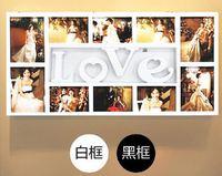 ❤ 結婚/情人節禮物推介 ❤ LOVE 歐式創意掛牆相框相架 (女朋友男朋友生日禮物)