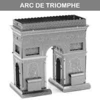 [小朋友禮物推介] 益智玩具DIY 立體金屬砌圖模型 - 世界建築ARC DE TRIOMPHE巴黎凱旋門