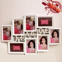 ❤ 結婚佈置用品/求婚禮物 ❤ 創意Live Laugh Love組合情侶結婚大相架