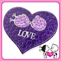 ❤ 女朋友情人節/聖誕禮物 ❤  F26 Sweet Kiss 100朵皂玫瑰花禮盒(4色選)