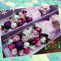 [2015聖誕節禮物推介] 韓國聖誕節特別版香皂玫瑰花束禮物