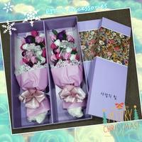 韓國聖誕節特別版Merry Christmas香皂玫瑰花束 (女朋友 老婆 聖誕禮物)