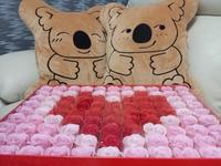 99枝香皂玫瑰花禮盒 ღ 情人節求婚必備禮物/佈置道具