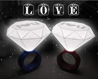 2016結婚/聖誕節求婚禮物推介 - I LOVE YOU 大鑽石戒指LED燈