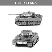 [男朋友/小朋友禮物推介] DIY 立體金屬砌圖模型 - TIGER I TANK坦克車