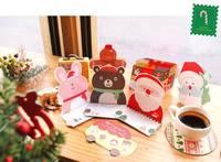 ★ 聖誕系列★ 韓國可愛立體聖誕賀卡 (10張)