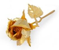 2017 母親節/女朋友情人節禮物 - 高檔24K金箔玫瑰花 (含苞代放玫瑰 - 大號)