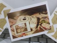 [DIY 手工相簿配件] 精美相片角貼一張24個 - 牛皮色 (買三送一)