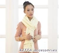 【韓國女裝】韓國針織流蘇大冷頸巾 披肩