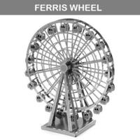 [男朋友/女朋友情人節DIY 手作小禮物精選] 3D金屬DIY手作模型 - 浪漫摩天輪 FERRIS WHEEL MODEL