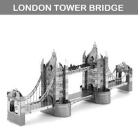 [小朋友禮物推介] 益智玩具DIY 立體金屬砌圖模型 - 世界建築LONDON BRIDGE倫敦大橋