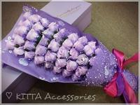 預訂2018情人節求婚花束 ❤ 51朵香皂玫瑰花花束 (香港網上訂花送花服務 Valentines Flower Gift)