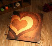 DIY情侶手工特大相簿 - Forever Love (特大16吋大容量相簿,可放300多張3R/4R相)
