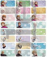 Frozen name stickers 冰雪奇緣姓名貼紙 -3013