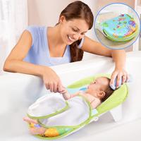 ((向日葵小屋))美國品牌 嬰兒 浴床 可折疊 浴盆 浴網 配澡巾 洗澡椅 105240