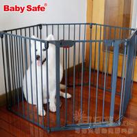 (向日葵小屋)香港孕婦及嬰幼兒專門店/嬰兒/寵物/安全門欄/多邊形防護欄/自由組合/自動回關/白色,灰色磨砂/六片裝 圍欄/特價$699套