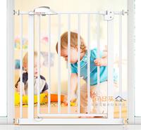 (今期震撼價只售$280/個)全新升級版BABY SAFE嬰兒寵物樓梯安全門欄門閘75-205cm、65-205cm門闊適用 105416