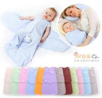 ((向日葵小屋))新生兒 純棉 包巾 嬰兒 包被 BB抱被 包被 睡袋 襁褓 包巾 包裹式 防驚跳 防踢 多色 (105242)