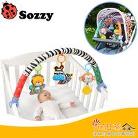 (向日葵小屋)香港孕婦及嬰幼兒專門店/美國SOZZY/多功能嬰兒車BB器/鈴鐺/床繞/兒童講故事/遊戲/玩具/親子/安撫玩具/掛件/動物公仔