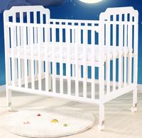 (向日葵小屋)香港孕婦及嬰幼兒專門店 / 嬰兒床/進口松木/白色實木床/無漆寶寶床/bb床/游戲床/搖籃床/送床墊蚊帳/床圍五件套/棉被