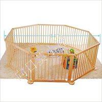 出口歐美 升級版可摺疊 純實木嬰兒兒童遊戲安全圍欄 8片裝 0569