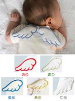 (向日葵小屋)卡通 天使 嬰幼兒 吸汗巾 雙層 純棉紗巾 無熒光 寶寶 墊背巾 口水巾